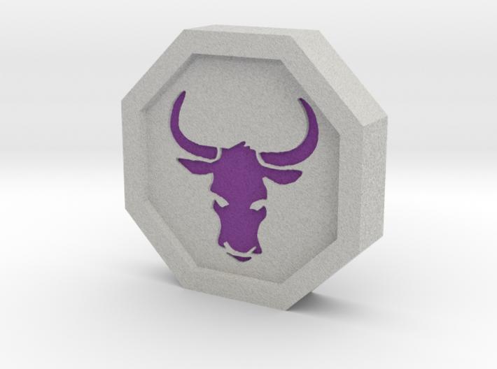 Ox Talisman 3d printed