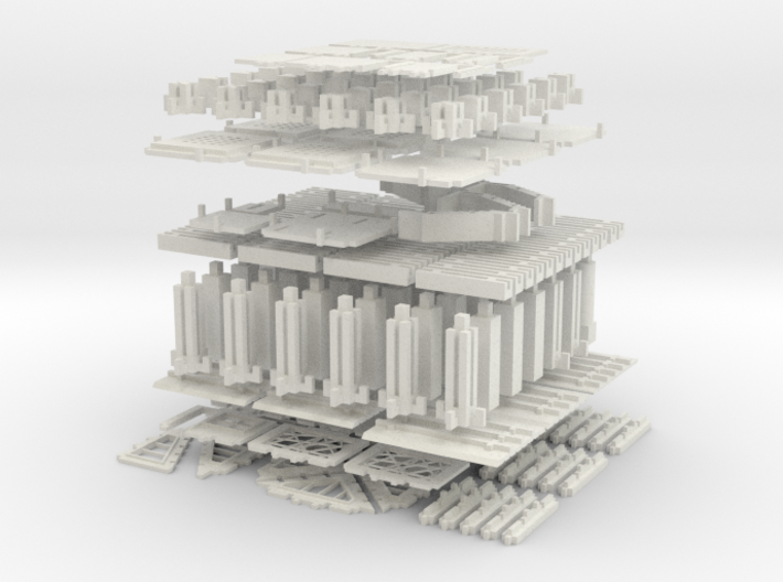 Printable Architectural Kit Series 2 3d printed