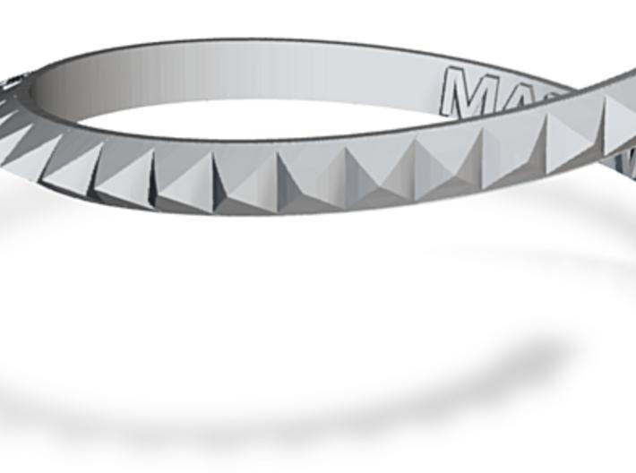 Smash Stud Bracelet 3d printed