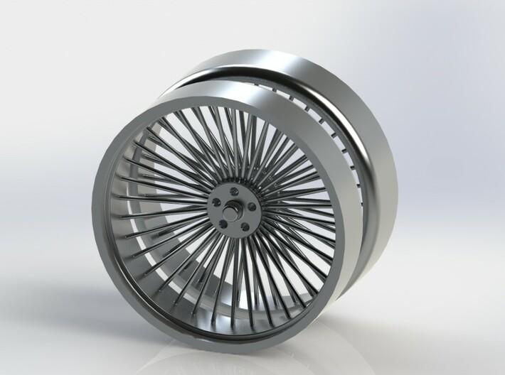 Wire Wheel Yo Yo 3d printed