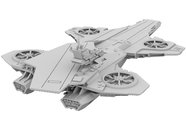 Hellicarrier [180mm] 3d printed