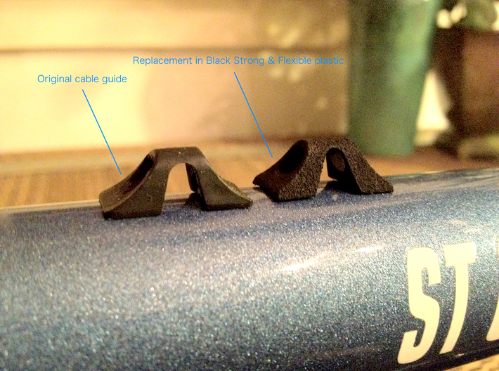 Cannondale Cable Guide 3d printed