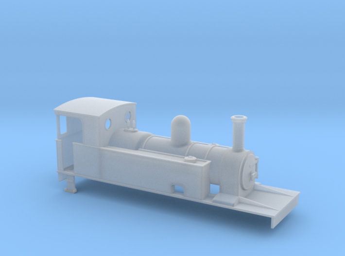 OOn3 C&L 4-4-0T 3d printed