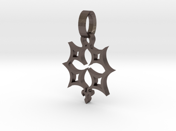 Crucifix star 1 inch 3d printed