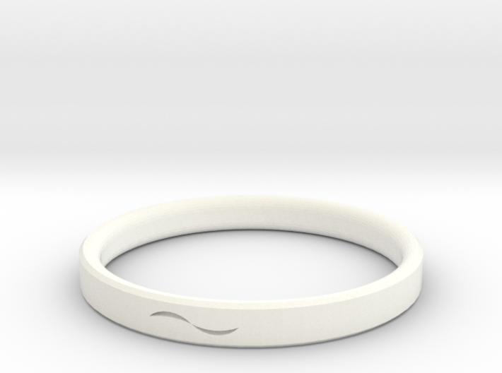Bracelet with Asymmetrical Design 3d printed