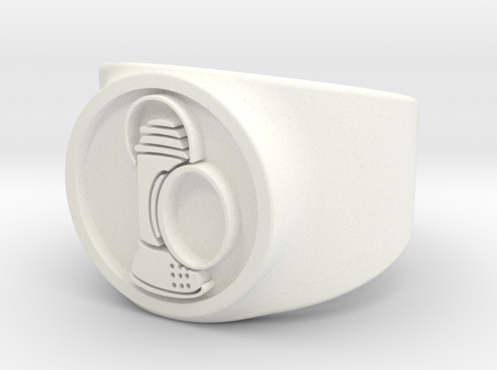 Alan Scott GL Ring Sz 8 3d printed