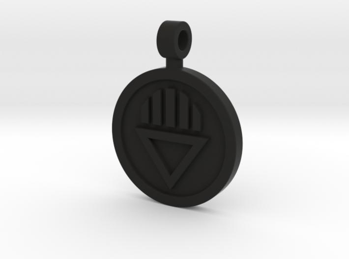 Black Death Pendant 3d printed