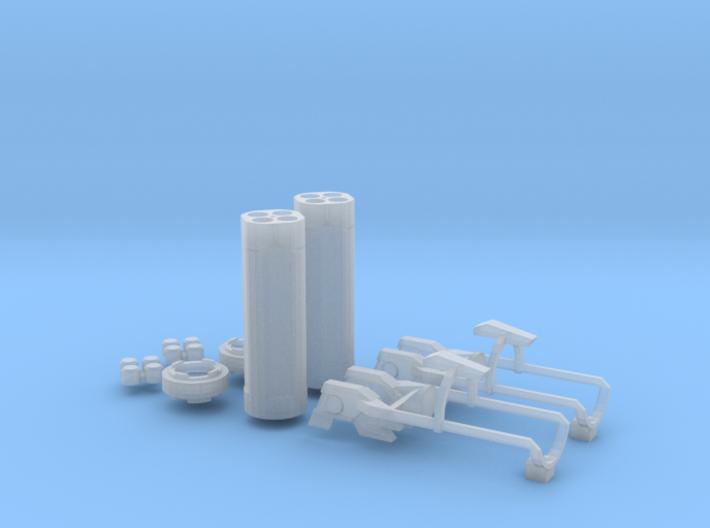 Beam Magnum Full Armor Kit 3d printed