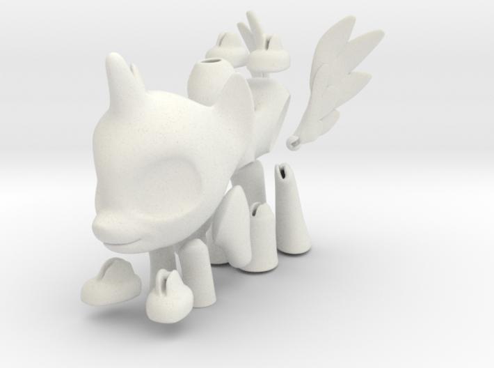 Alicorn BJD Pony Alicorn: Small version 3d printed