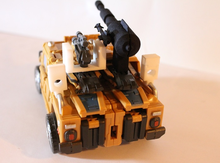 Warbotron WB01-C Canon Shoulder Clip Detailed Thic 3d printed