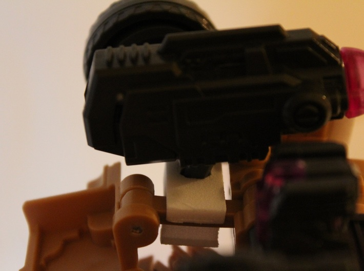 Warbotron WB01-C Canon Shoulder Mount Handle V2 3d printed