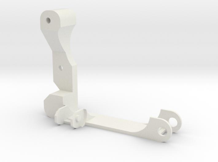 Eje X Acople Cadeneta Izquierda 3d printed