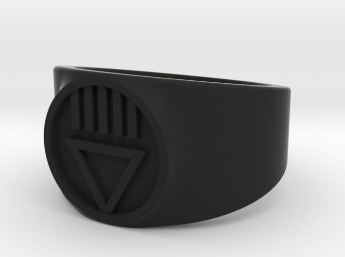 Black Death GL Ver 2 Ring Sz 13 3d printed