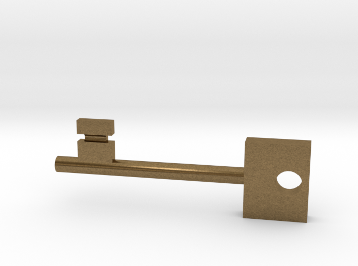 Skeleton Key 3d printed