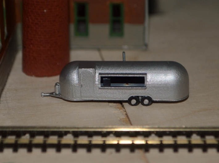 N-Scale Roach Coach (Revised) 3d printed Painted Production Sample