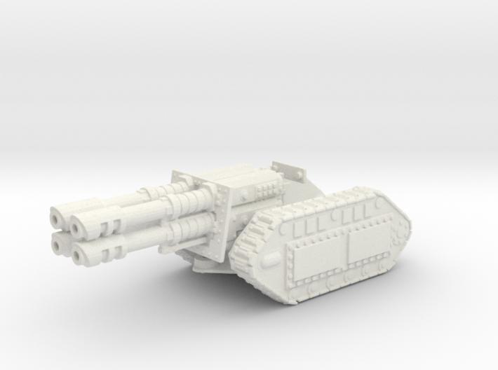 28mm Reaver laser gun 3d printed