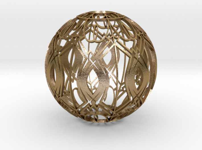Lampshade (Designer Sphere 3 3mm Thick) 3d printed