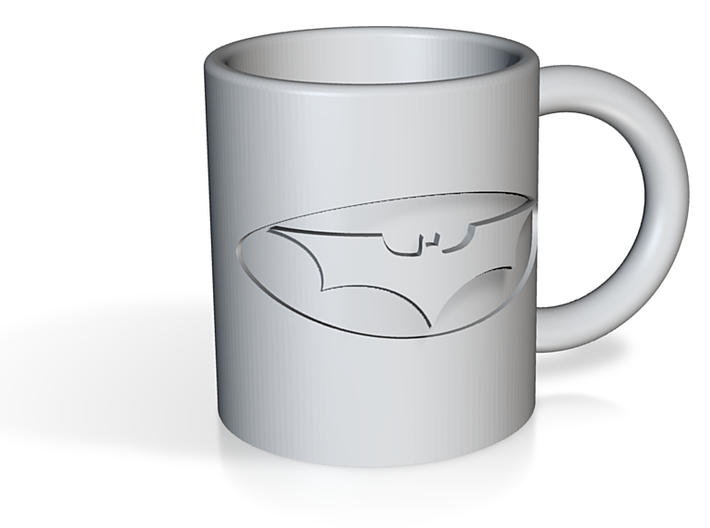 Batman mug 3d printed