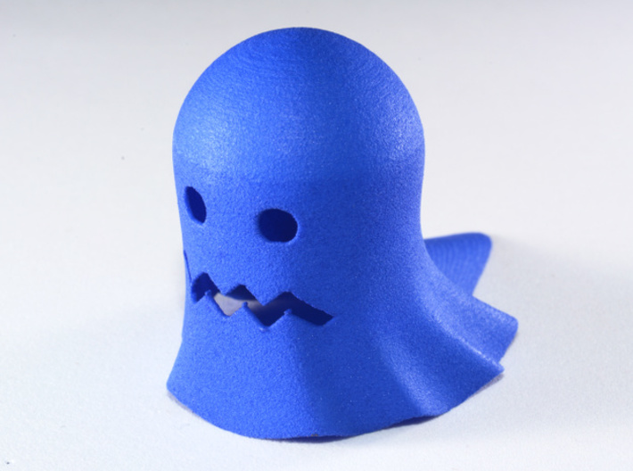 Retrogaming: Ghost (Scared) 3d printed Actual photo of the model you get.