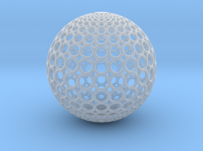 Gradient Ring Ball【Size-S】 3d printed