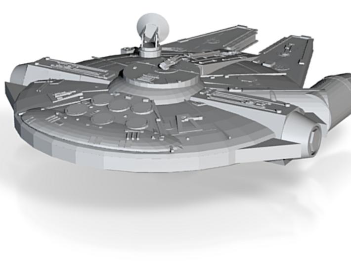 Copy Of Millenium Falcon In Progress Starwars 3d printed