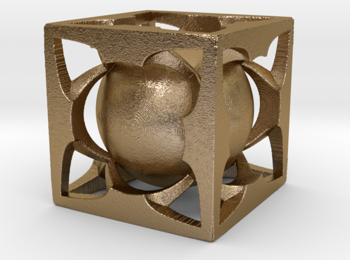 Sphere Cube Hollow SE4 3d printed