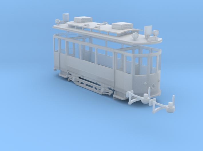 BVB Be 2/2 116 (H0m/H0e) 3d printed