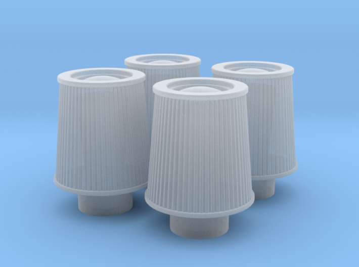 1/24 K&N Cone Style Air Filters TDR 1047 3d printed