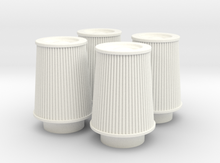 1/12 K&N Cone Style Air Filters TDR 4630 3d printed