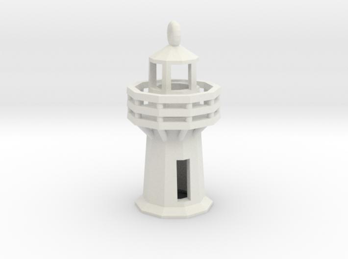 Lighthouse Pendant 3d printed