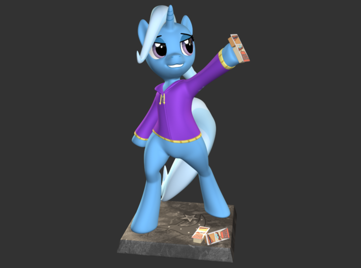 My Little Pony - The Great&Powerful Trixie 20cm 3d printed