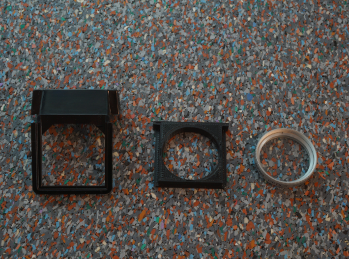 30mm Filter Adapter for Polaroid SX-70 3d printed