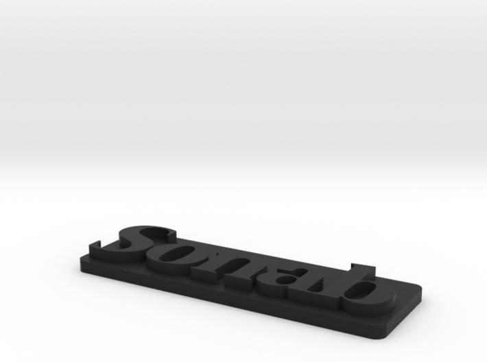 Sonab-plast 3d printed