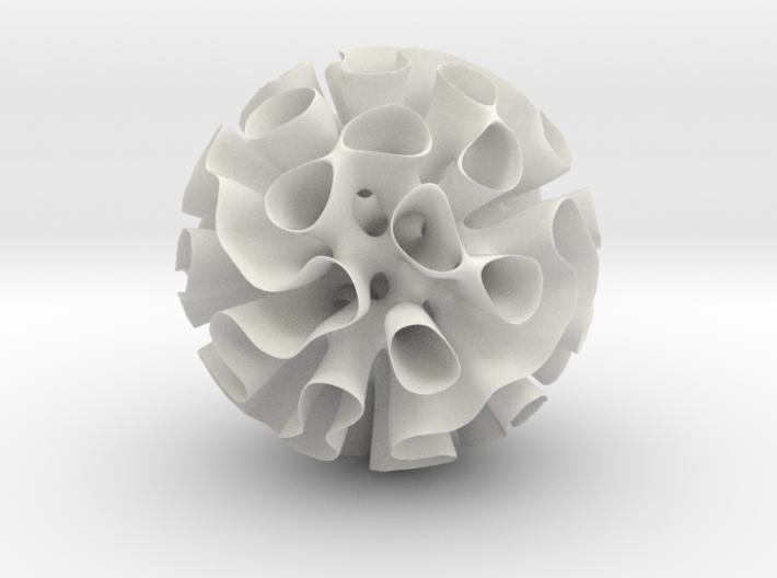 Warped Gyroid Shell 16 cm Diameter 3d printed