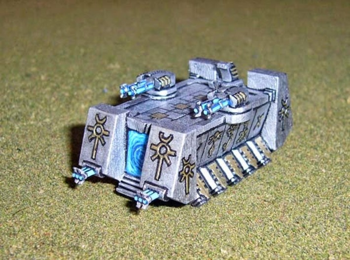 6mm DeathBot War-Barge (1pcs) 3d printed Picture courtesy of Markconz at http://hordesofthings.blogspot.co.nz/