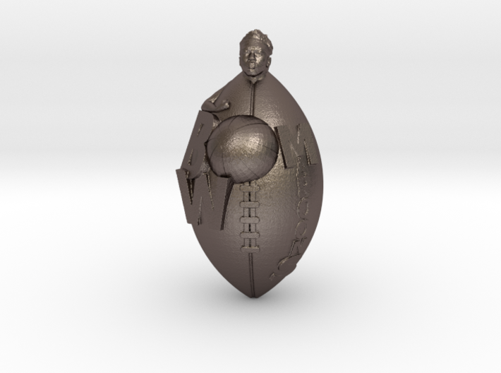 Custom Design Sport Charm. YOUNG MIDAS' Charm 3d printed