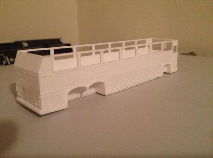 1:87 HO Scale MCI MC9 Motor Coach Bus 3d printed Printed and assembled with success!