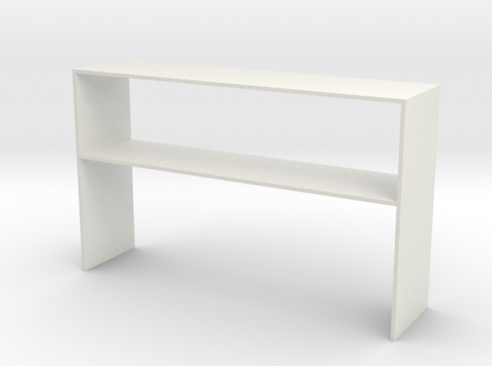 Over Desk Cabinet 1 Close 3d printed