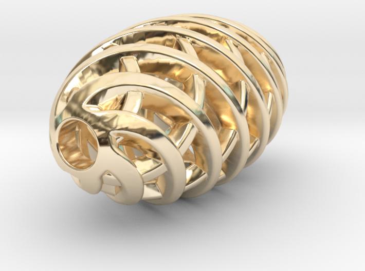 Tritium Pendant 1 (All Materials) 3d printed