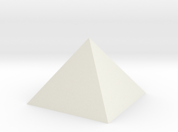 Pyramid Hollow 74mm 95cm3 - Square Johnson Closed 3d printed