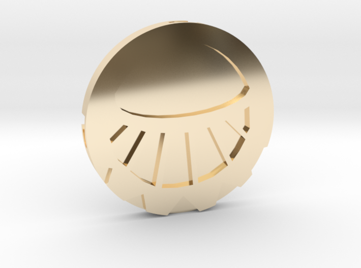 Medaillon Cités d'or - Soleil 3d printed