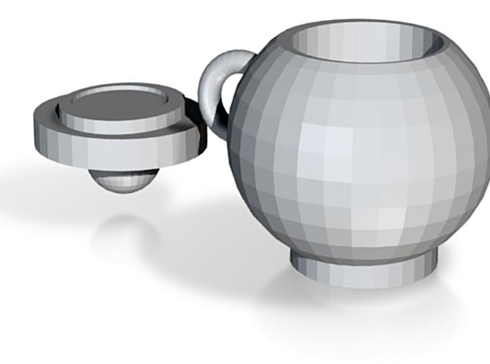 Round Mug With Lid 3d printed