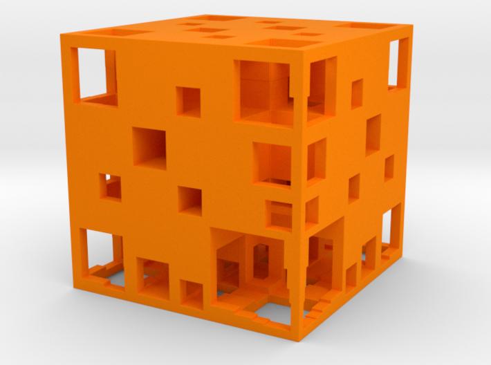 UA Menger Cube 40mm 3d printed