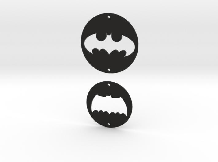 Batman Logo Charms 2 3d printed