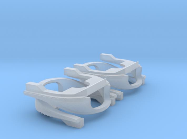 4 Baanschuivers 2.0 3d printed