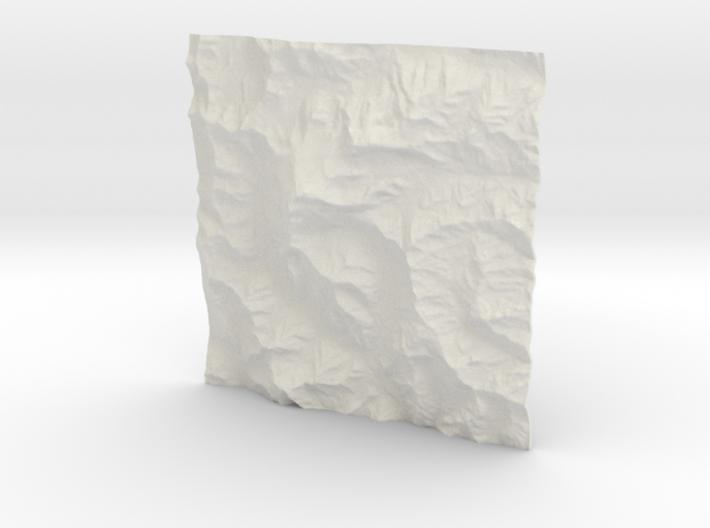 3''/7.5cm Aconcagua, Argentina, WSF 3d printed