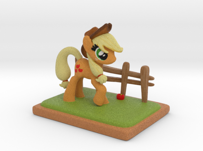 MyLittle Pony- Applejack (72mmtall) 3d printed