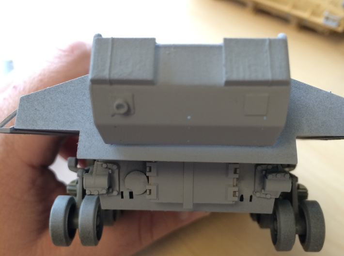 IDF Sherman M51 Rear Storage Basket 1/35 scale 3d printed