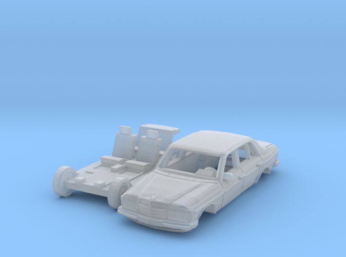 Mercedes-Benz W123 (N 1:160) 3d printed