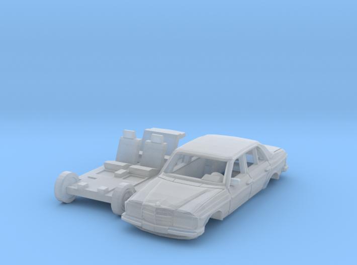 Mercedes-Benz W123 (N 1:160) 3d printed